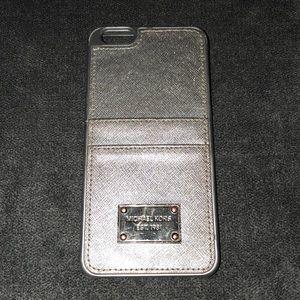 Michael Kors Silver iPhone 6+ Case